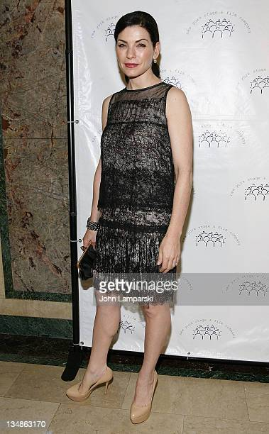 Julianna Margulies attends the New York Stage and Film 2011 gala at The Plaza Hotel on December 4 2011 in New York City