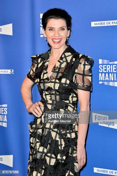 Julianna Margulies attends the 'Series Mania' photocall at Forum des Halles on April 20 2017 in Paris France