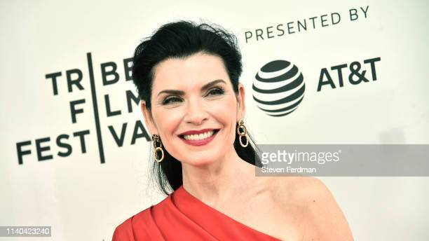 Julianna Margulies attends Tribeca TV The Hot Zone during the 2019 Tribeca Film Festival at SVA Theater on April 30 2019 in New York City