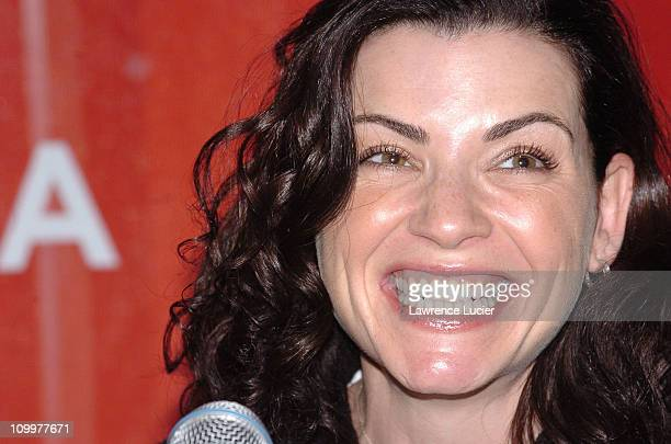 Julianna Margulies during 4th Annual Tribeca Film Festival - Slingshot - Press Conference at Regal Cinemas in New York City, New York, United States.