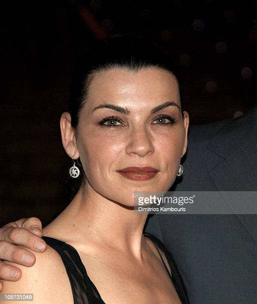 Julianna Margulies during 4th Annual Tribeca Film Festival Vanity Fair Party at The State Supreme Courthouse in New York City New York United States