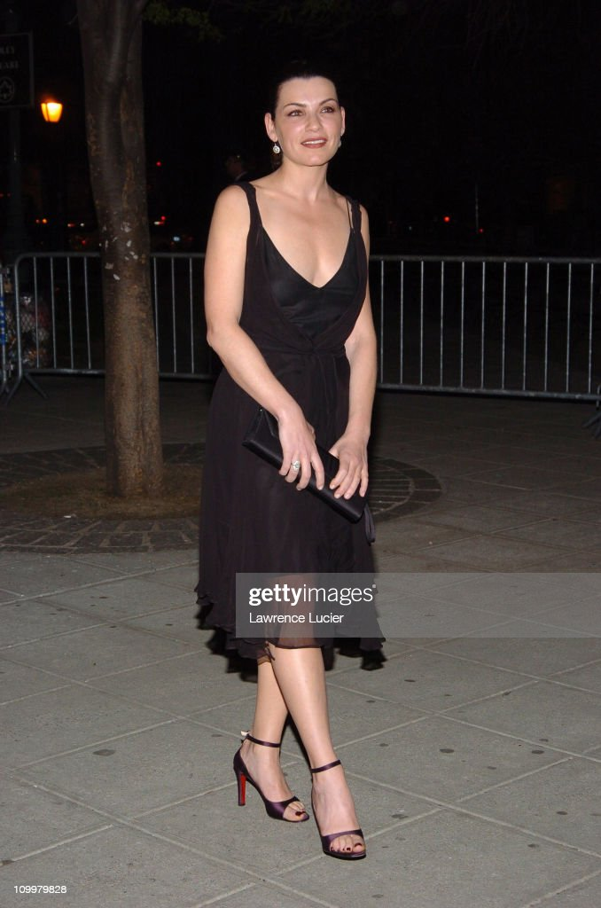 Julianna Margulies during 4th Annual Tribeca Film Festival - Vanity Fair Party at New York Supreme Court in New York City, New York, United States.