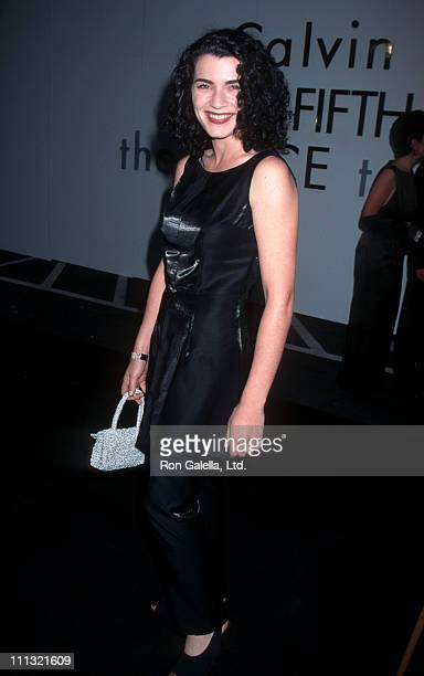 Julianna Margulies during Calvin Klein Presents Fall 1995 Collections at the 'Race to Erase MS' Benefit at Saks Fifth Avenue Store in Beverly Hills...