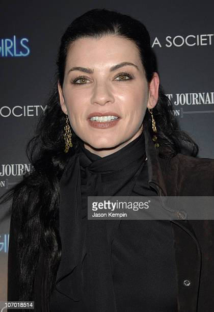 Julianna Margulies during 'Dreamgirls' New York Screening Hosted by the Cinema Society and the Wall Street Journal Inside Arrivals at The Tribeca...