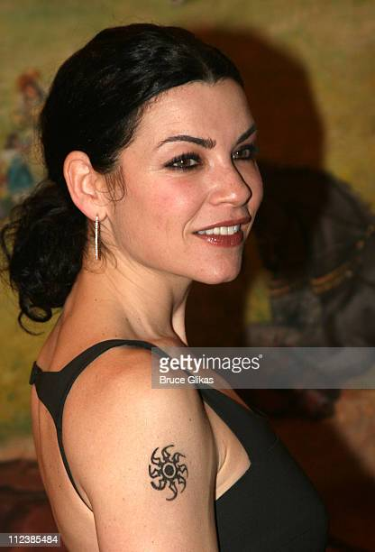 Julianna Margulies during 'Festen' Broadway Opening Night After Party at Opening Night Curtain Call and Party for 'Festen' on Broadway in New York NY...
