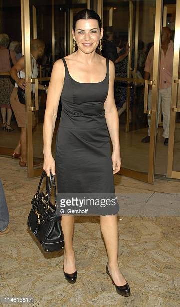 Julianna Margulies during 'Grendel' Opera by Elliot Goldenthal New York Premiere July 11 2006 at New York State Theatre Lobby at Lincoln Center in...