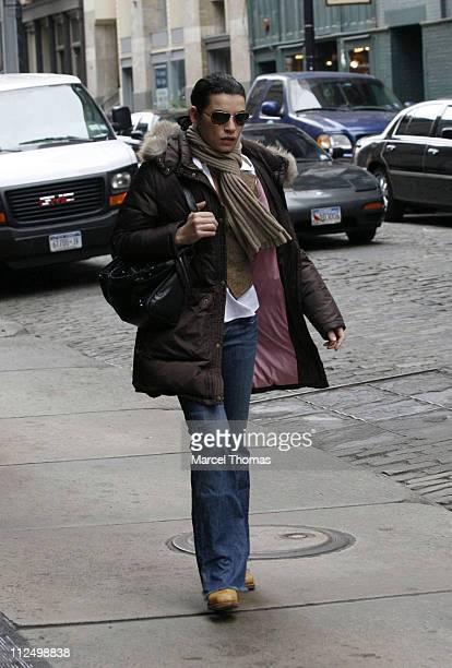 Julianna Margulies during Julianna Margulies Sighting in Soho New York City November 13 2006 in New York City New York United States