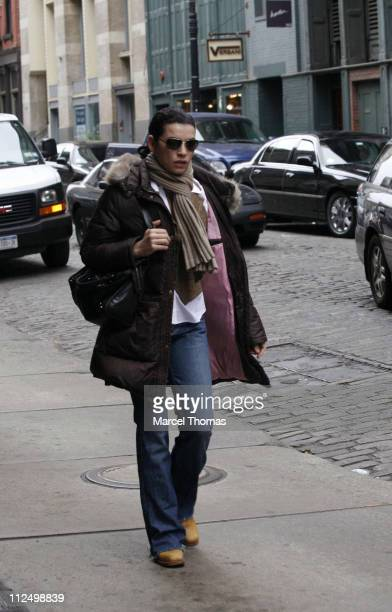 Julianna Margulies during Julianna Margulies Sighting in Soho New York City November 13 2006 in New York City New York United States