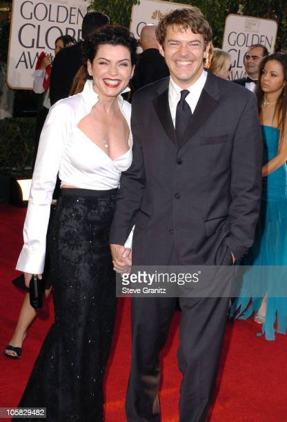 Julianna Margulies during The 62nd Annual Golden Globe Awards Arrivals at Beverly Hilton Hotel in Los Angeles California United States