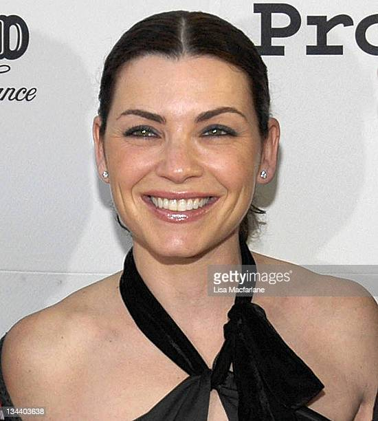 Julianna Margulies during The Chambord Project Raise Money by Raising Your Glass in New York City New York United States