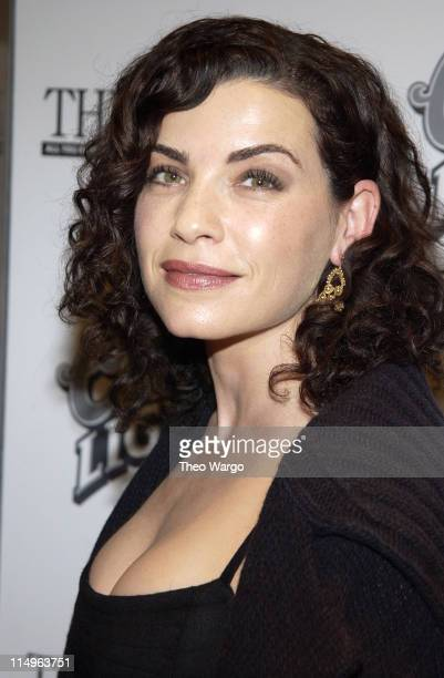Julianna Margulies during 'The Human Stain' New York City Premiere Inside Arrivals at Beekman Theatre in New York City New York United States