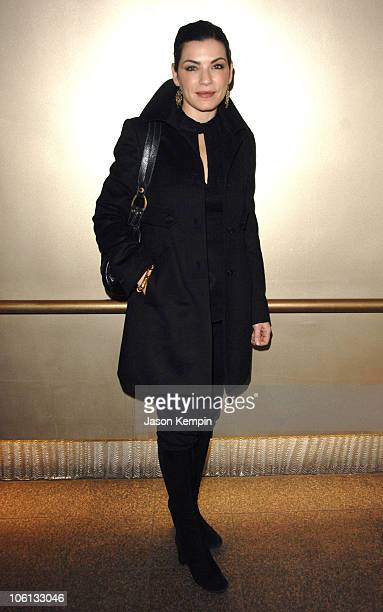 Julianna Margulies during The New York Stage And Film Winter Gala November 19 2006 at The Copacabana in New York City New York United States