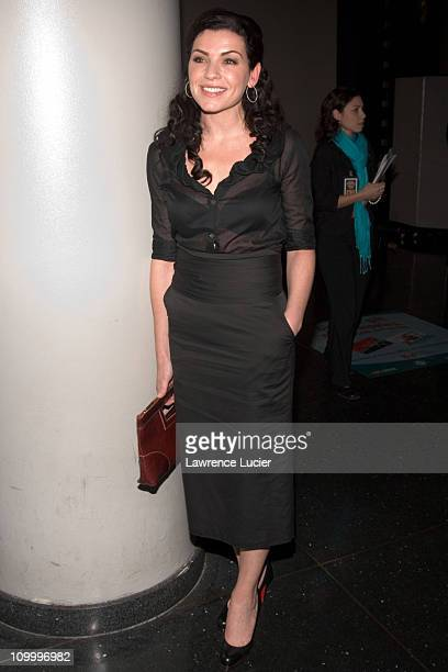 Julianna Margulies during Warner Bros' Syriana New York City Premiere at Loews Lincoln Square in New York City New York United States
