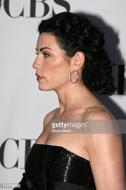 Julianna Margulies presenter during 60th Annual Tony Awards Arrivals at Radio City Music Hall in New York City New York United States