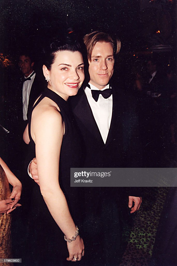 Julianna Margulies & Ron Eldard during 2000 Golden Globe SKG Party in Los Angeles, California, United States.