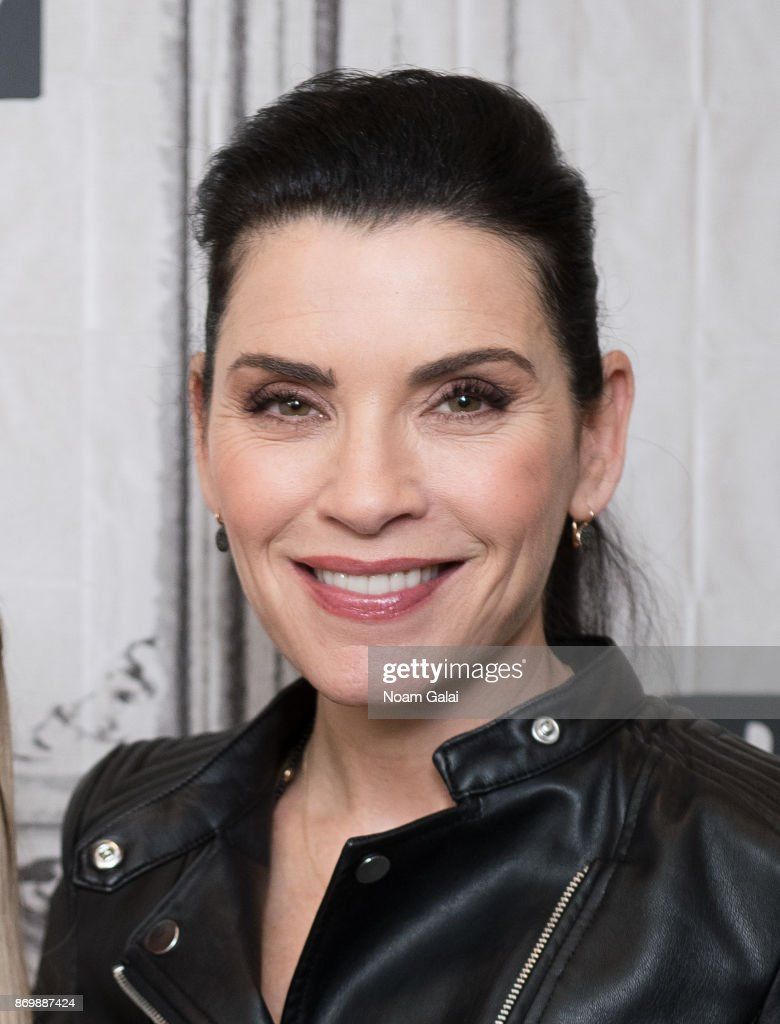 Julianna Margulies visits Build Series to discuss Erin's Law at Build Studio on November 3, 2017 in New York City.