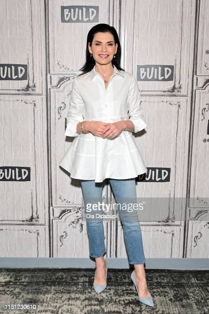 Julianna Margulies visits Build to discuss The Hot Zone at Build Studio on May 23 2019 in New York City