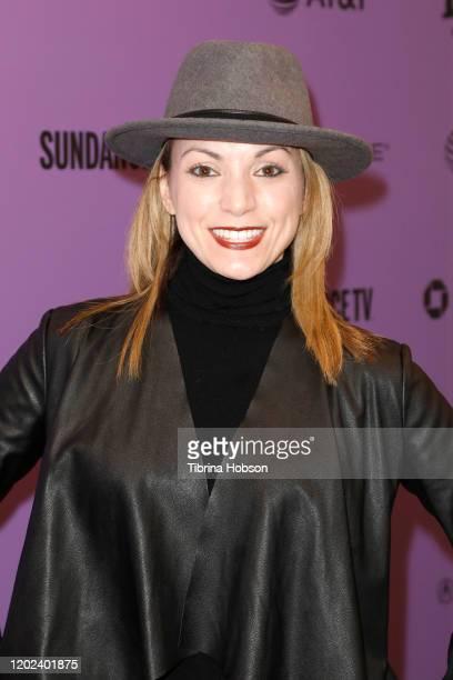 Julianna Politsky attends the 2020 Sundance Film Festival La Leyenda Negra Premiere at Egyptian Theatre on January 27 2020 in Park City Utah