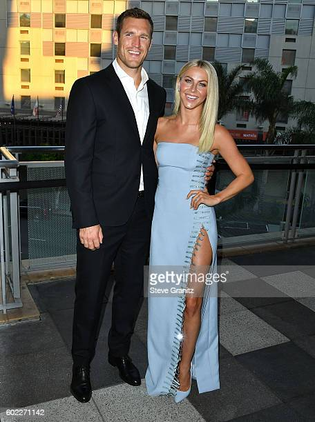 Julianne Hough and Brooks Laich arrives at the 6th Annual Celebration Of Dance Gala Presented By The Dizzy Feet Foundation at The Novo by Microsoft...