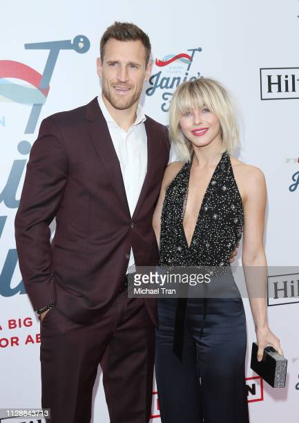 Julianne Hough and Brooks Laich attend Steven Tyler's GRAMMY Awards viewing party benefiting Janie's Fund held at Raleigh Studios on February 10 2019...