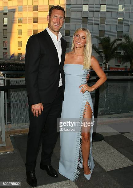Julianne Hough and Brooks Laich attend the 6th Annual Celebration of Dance Gala presented by The Dizzy Feet Foundation on September 10 2016 in Los...
