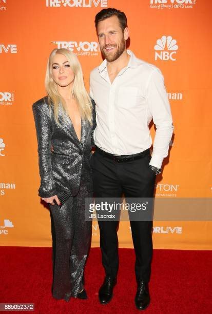 Julianne Hough and Brooks Laich attend The Trevor Project's 2017 TrevorLIVE LA on December 3 2017 in Beverly Hills California