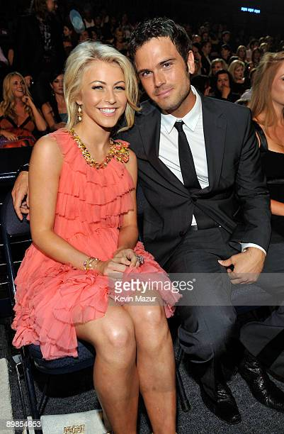 NASHVILLE TN JUNE 16 Julianne Hough and Chuck Wicks attend the 2009 CMT Music Awards at the Sommet Center on June 16 2009 in Nashville Tennessee