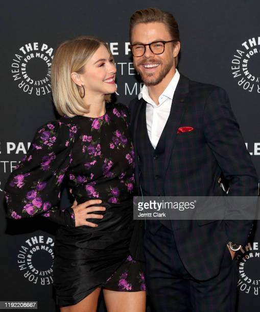 Julianne Hough and Derek Hough attend The Paley Center For Media Presents: An Evening With Derek Hough And Julianne Hough at The Paley Center for...
