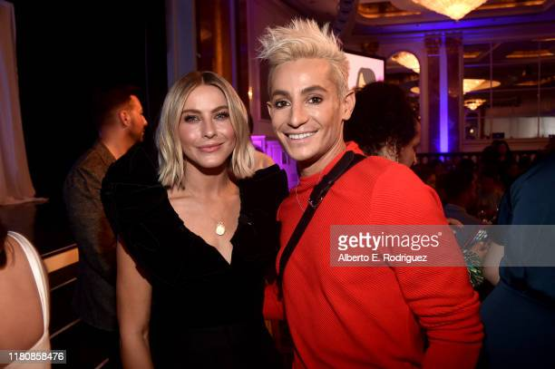 Julianne Hough and Frankie Grande attend the 2nd Annual Girl Up #GirlHero Awards at the Beverly Wilshire Four Seasons Hotel on October 13 2019 in...