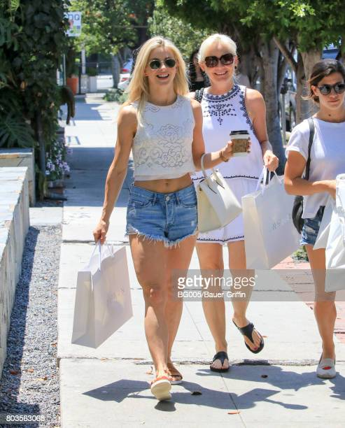 Julianne Hough and mother Mari Anne Hough are seen on June 29 2017 in Los Angeles California