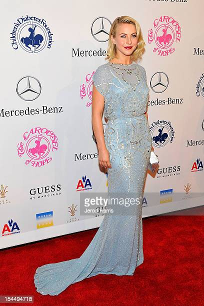 Julianne Hough arrives at MercedesBenz presents The Carousel Of Hope on October 20 2012 in Los Angeles California