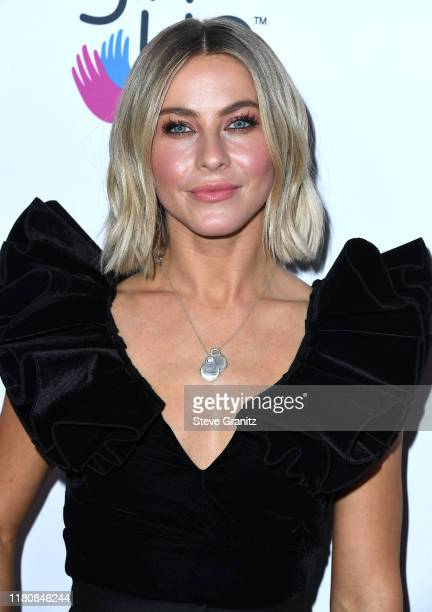 Julianne Hough arrives at the 2nd Annual Girl Up #GirlHero Awards at the Beverly Wilshire Four Seasons Hotel on October 13 2019 in Beverly Hills...