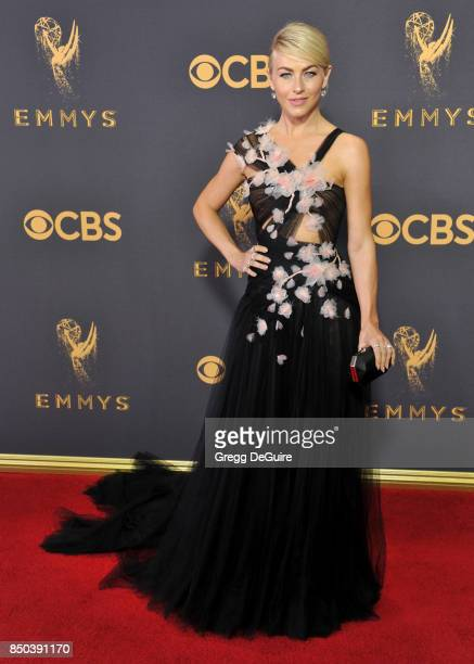 Julianne Hough arrives at the 69th Annual Primetime Emmy Awards at Microsoft Theater on September 17 2017 in Los Angeles California