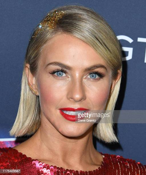 Julianne Hough arrives at the America's Got Talent Season 14 Live Show Red Carpet at Dolby Theatre on September 17 2019 in Hollywood California