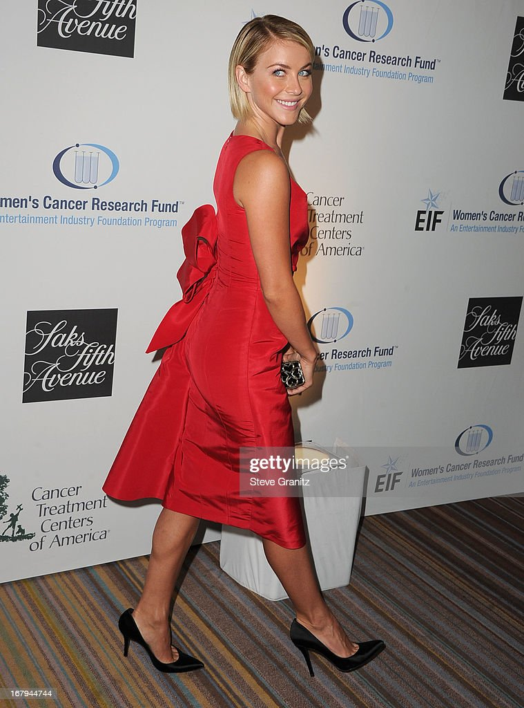 Julianne Hough arrives at the An Unforgettable Evening Benefiting EIF's Women's Cancer Research Fund at Regent Beverly Wilshire Hotel on May 2, 2013 in Beverly Hills, California.