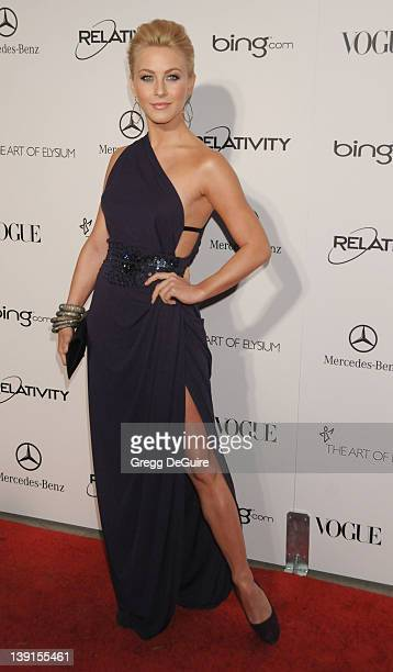 """Julianne Hough arrives at The Art Of Elysium's 4th Annual Black Tie Charity Gala """"Heaven"""" at The Annenberg Building at the California Science Center..."""