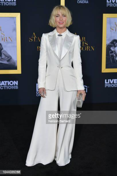 Julianne Hough arrives at the Premiere Of Warner Bros Pictures' 'A Star Is Born' at The Shrine Auditorium on September 24 2018 in Los Angeles...