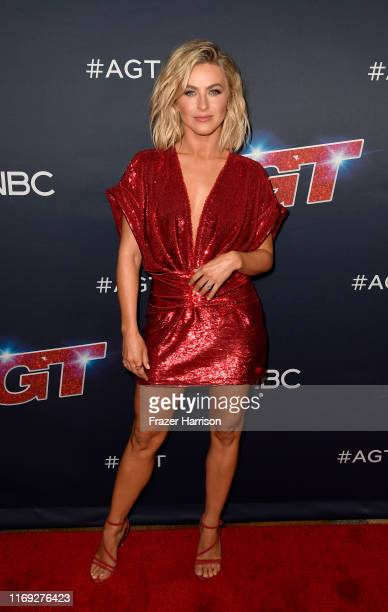Julianne Hough attends America's Got Talent Season 14 at Dolby Theatre on August 20 2019 in Hollywood California