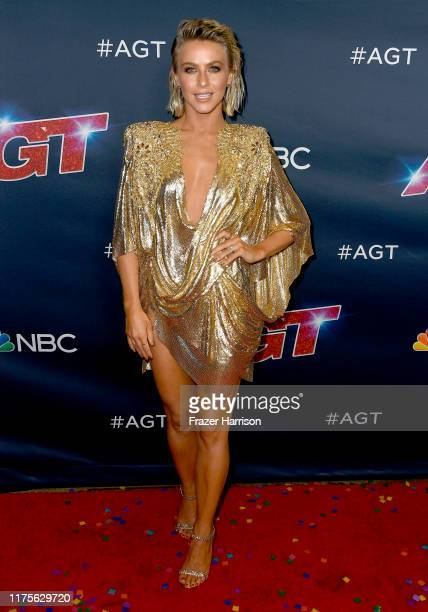 """Julianne Hough, attends """"America's Got Talent"""" Season 14 Finale Red Carpet at Dolby Theatre on September 18, 2019 in Hollywood, California."""