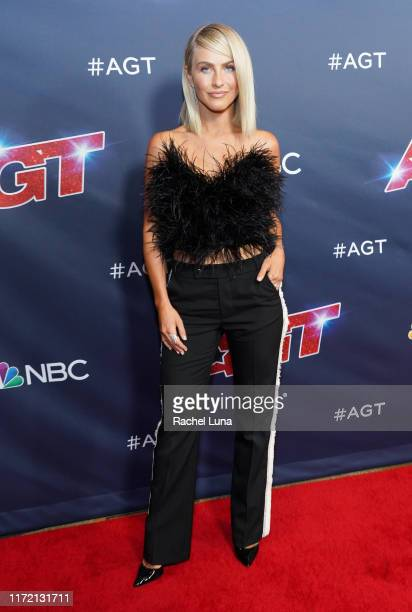 """Julianne Hough attends """"America's Got Talent"""" Season 14 Live Show Red Carpet at Dolby Theatre on September 03, 2019 in Hollywood, California."""