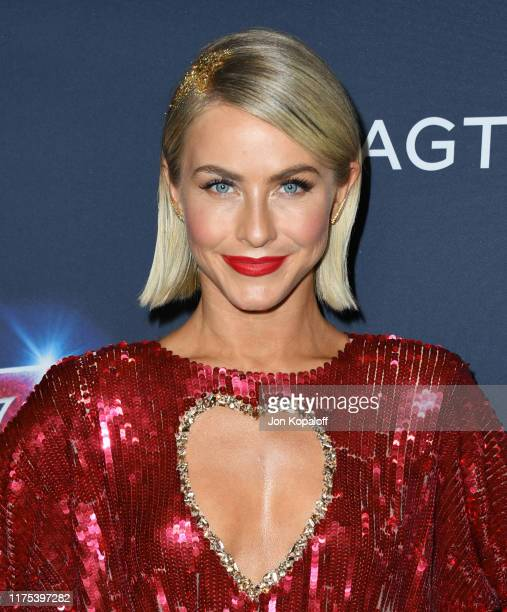 """Julianne Hough attends """"America's Got Talent"""" Season 14 Live Show Red Carpet at Dolby Theatre on September 17, 2019 in Hollywood, California."""