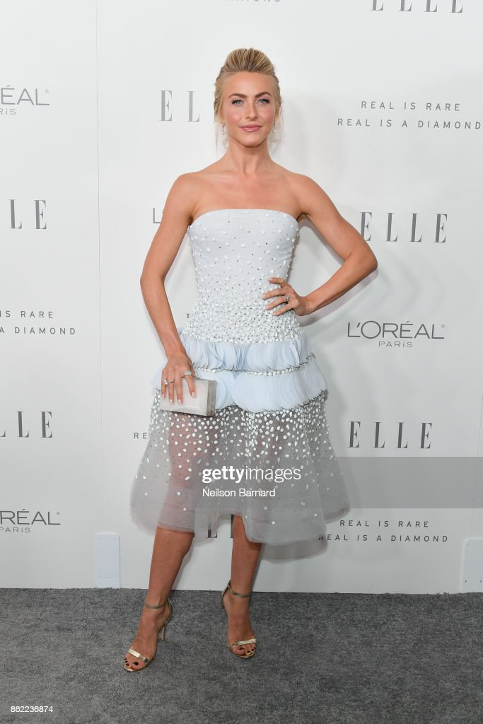 Julianne Hough attends ELLE's 24th Annual Women in Hollywood Celebration presented by L'Oreal Paris, Real Is Rare, Real Is A Diamond and CALVIN KLEIN at Four Seasons Hotel Los Angeles at Beverly Hills on October 16, 2017 in Los Angeles, California.