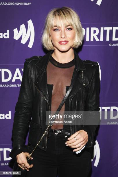 Julianne Hough attends Justin Tranter And GLAAD Present 'BEYOND' Spirit Day Concert at The Sayers Club on October 17 2018 in Hollywood California