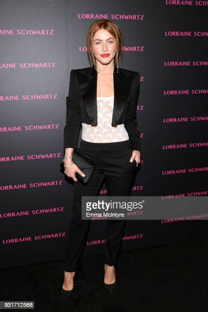 Julianne Hough attends Lorraine Schwartz launches The Eye Bangle a new addition to her signature Against Evil Eye Collection at Delilah on March 13...