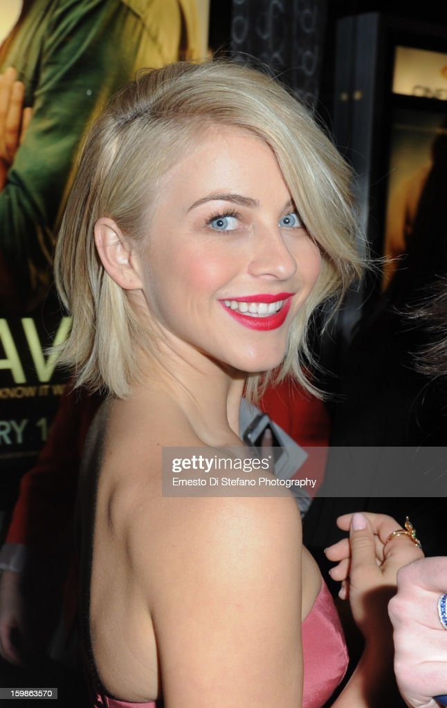 Julianne Hough attends 'Safe Haven' Canadian premiere at Scotiabank theatre on January 21, 2013 in Toronto, Canada.