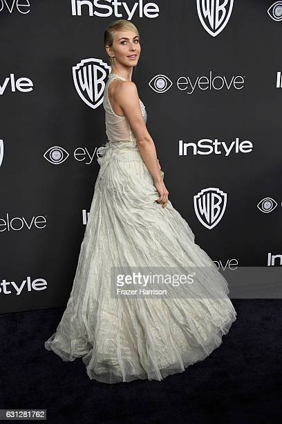 Julianne Hough attends the 18th Annual PostGolden Globes Party hosted by Warner Bros Pictures and InStyle at The Beverly Hilton Hotel on January 8...