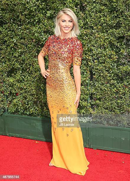 Julianne Hough attends the 2015 Creative Arts Emmy Awards at Microsoft Theater on September 12 2015 in Los Angeles California