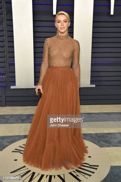 Julianne Hough attends the 2019 Vanity Fair Oscar Party hosted by Radhika Jones at Wallis Annenberg Center for the Performing Arts on February 24,...