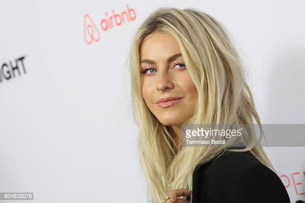 Julianne Hough attends the 3rd Annual Airbnb Open Spotlight at Various Locations on November 19 2016 in Los Angeles California