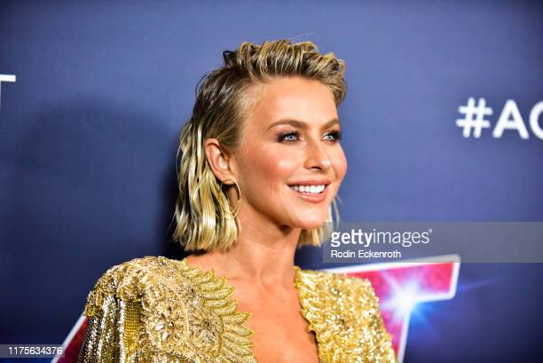Julianne Hough attends the America's Got Talent Season 14 Finale Red Carpet at Dolby Theatre on September 18 2019 in Hollywood California